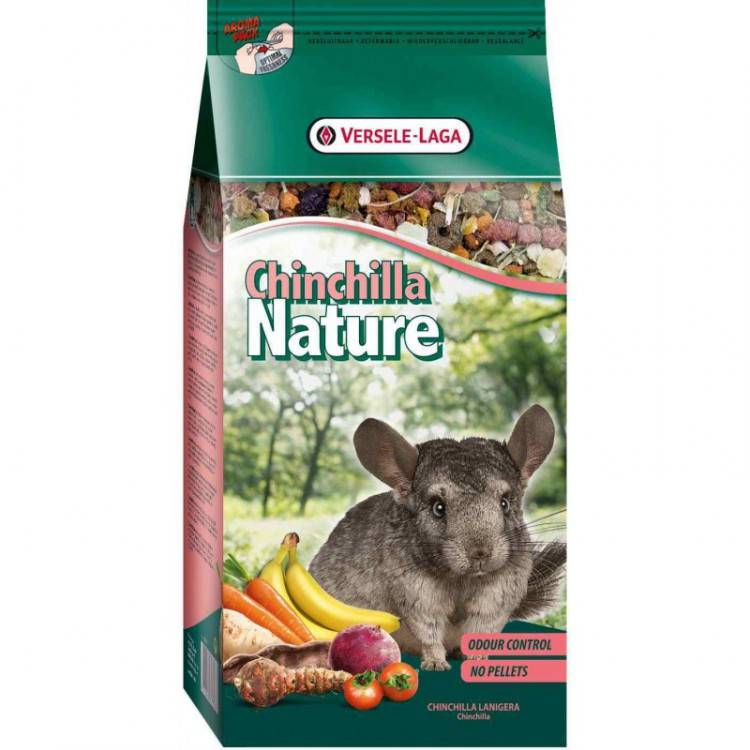 Корм для шиншилл chinchilla nature