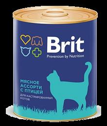 brit «мясное ассорти с птицей»