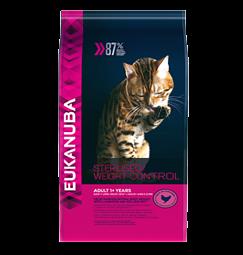 eukanuba adult cat sterilized/weight control