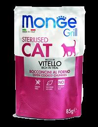 monge grill sterilised cat