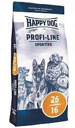 Корм для собак высокой активности Happy Dog Profi Line Sportive 26-16