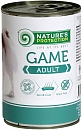 Консервы для собак Nature's Protection Adult Game с мямом дичи