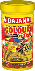 Корм для рыб Dajana Colour Flakes хлопья