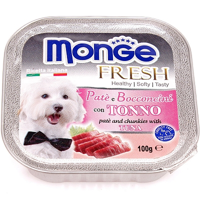 Консервы для собак Monge Dog Fresh тунец