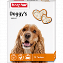 Кормовая добавка для собак старше 7 лет Beaphar Doggy's Senior с L-карнитином, 75 таб