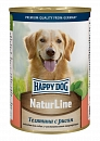 Консервы для собак Happy Dog Natur Line, Телятина и рис