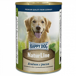 Консервы для собак Happy Dog Natur Line Ягненок с рисом