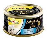 Консервы для кошек GimCat ShinyCat Filet из тунца